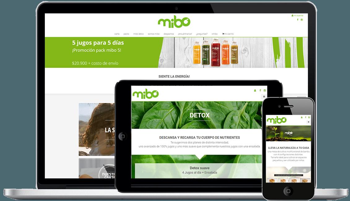 Tienda E-commerce Mibo
