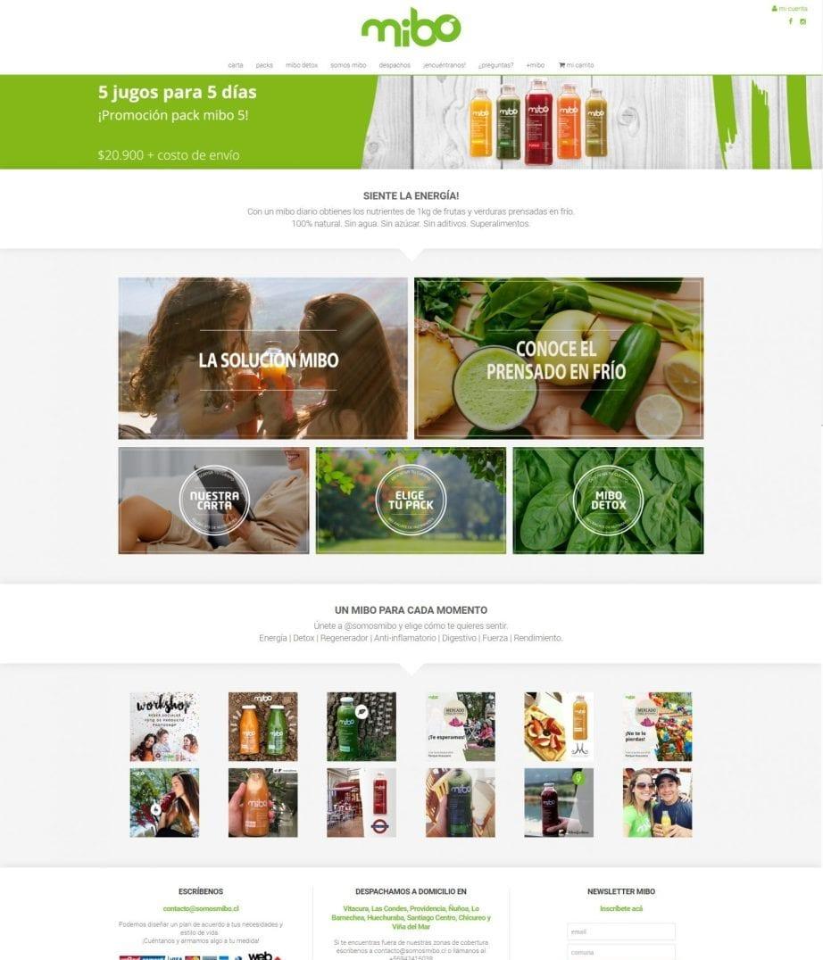 mibo homepage
