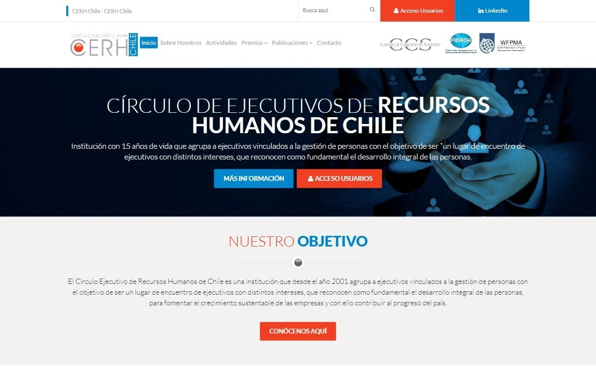 Cerch Chile Website