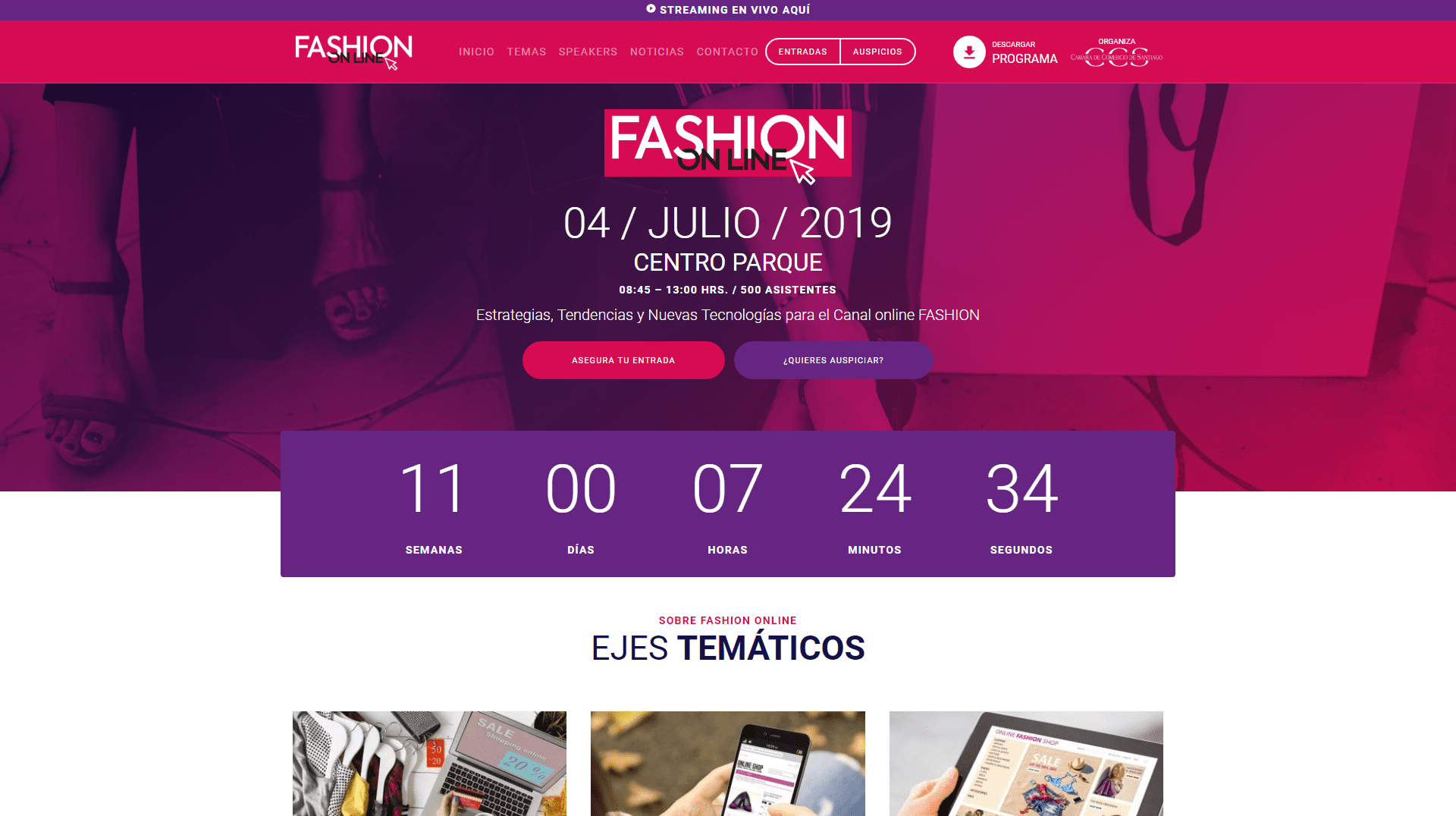 Fashion Online Desktop