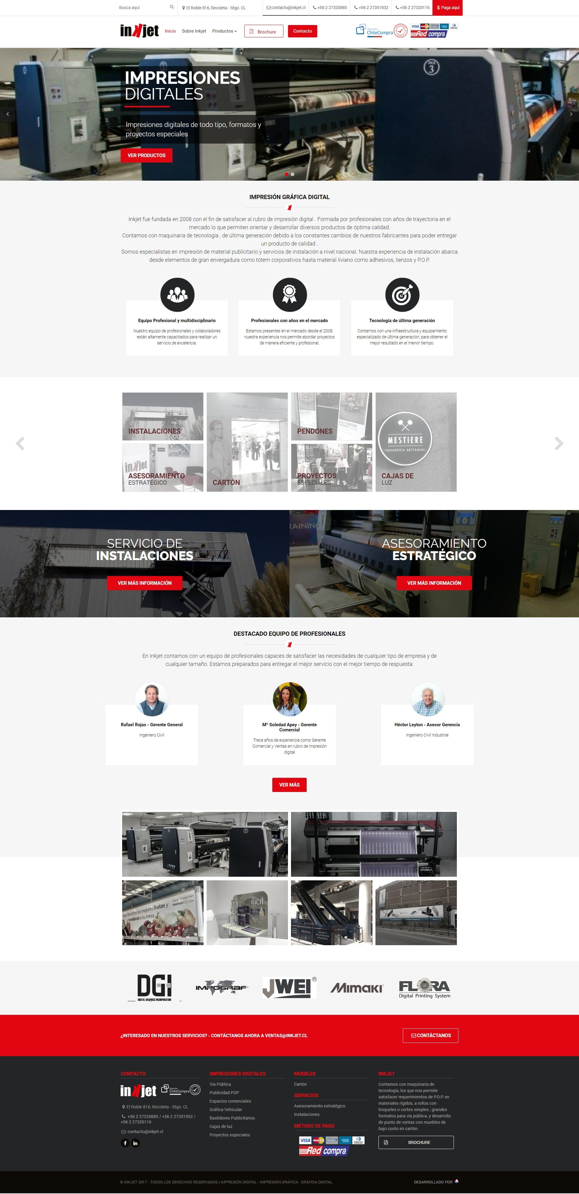Inkjet Website