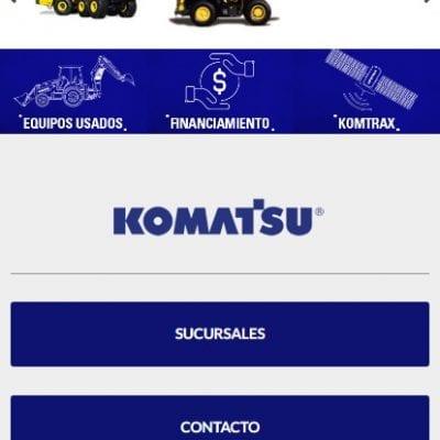 Komatsu Mobile