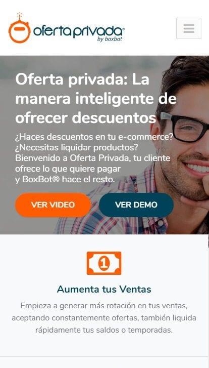 Oferta Privada Mobile