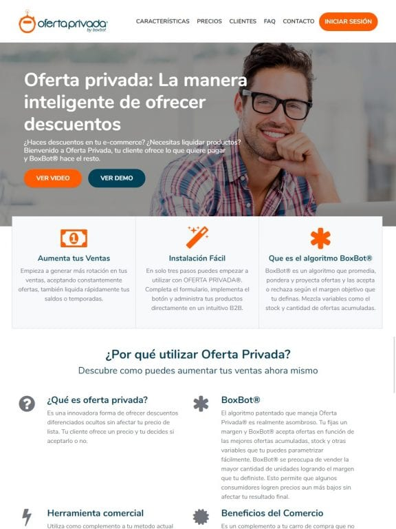 Oferta Privada Website
