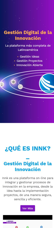 Sitio web para INNK